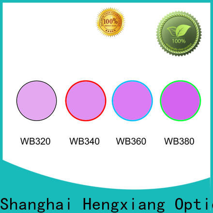 HENGXIANG glass color filters for lights wholesale for educational materials