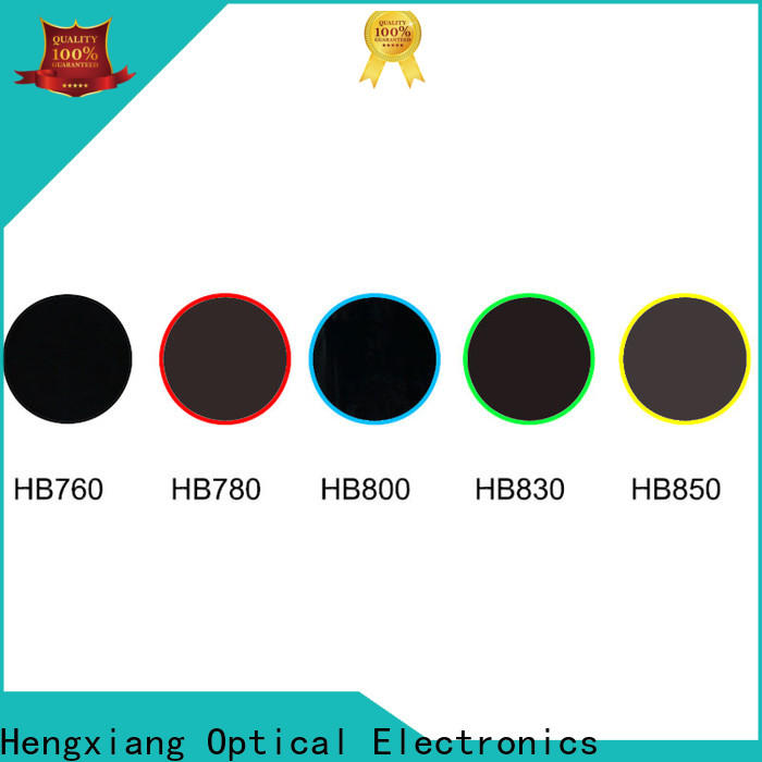 HENGXIANG color glass filter series for optical instruments