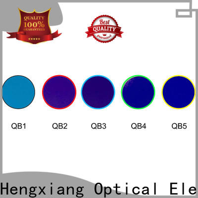 HENGXIANG colored lens filters with good price for industrial