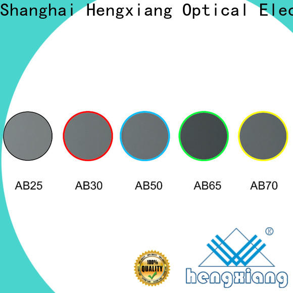 HENGXIANG colored glass filters factory direct supply for cameras