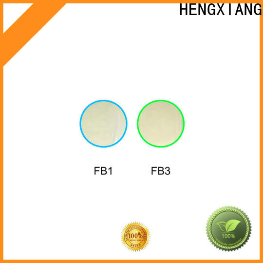 HENGXIANG optical colored glass filters directly sale for UV or IR detection system