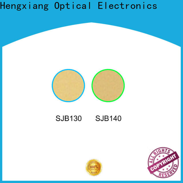 HENGXIANG professional colored glass light filters wholesale for optical instruments