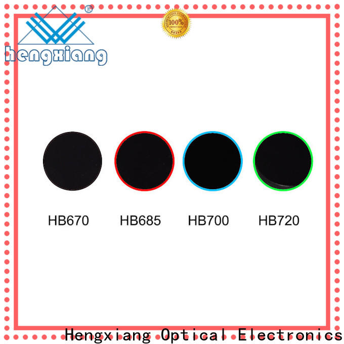 HENGXIANG colored filters wholesale for UV or IR detection system