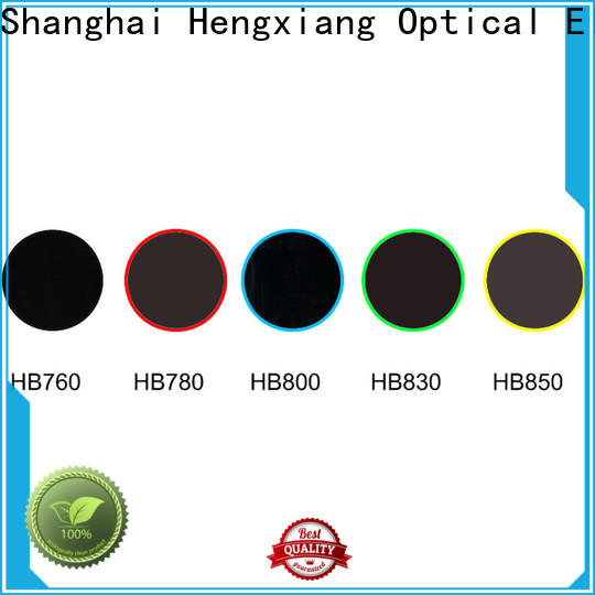 HENGXIANG color glass filter directly sale for optical instruments