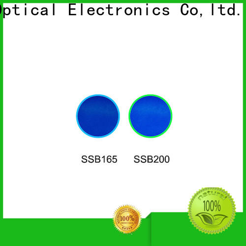 HENGXIANG excellent colored glass light filters factory direct supply for optical instruments
