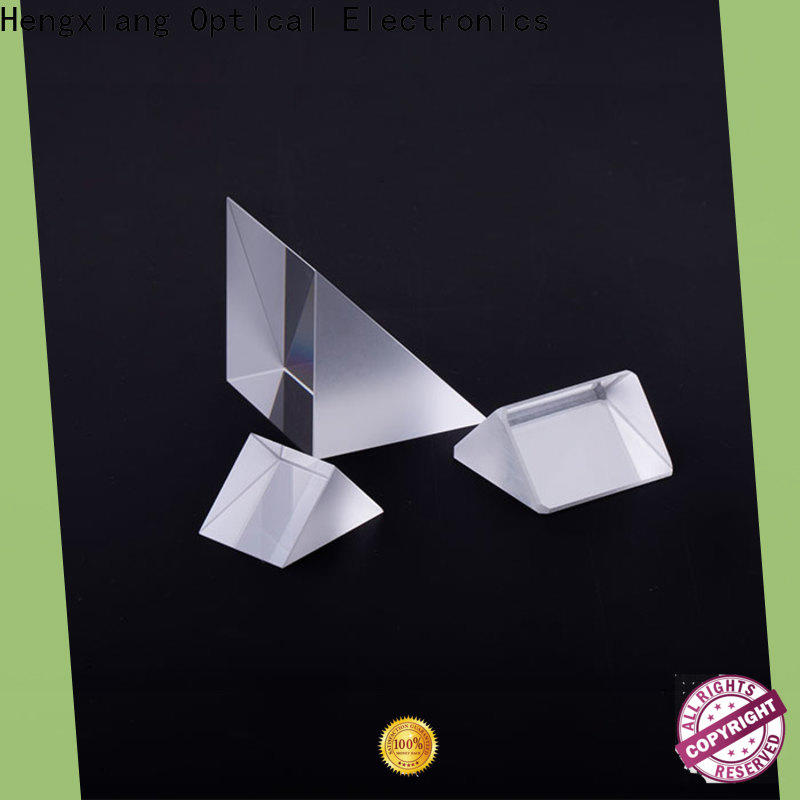 HENGXIANG optical prism customized for light prism