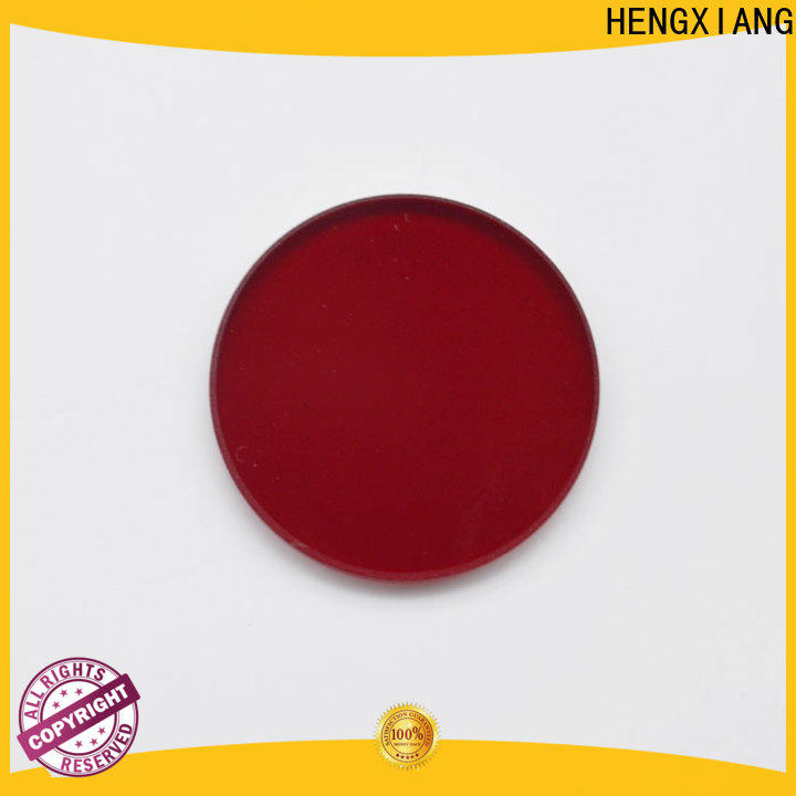 HENGXIANG colored glass filters with good price for industrial