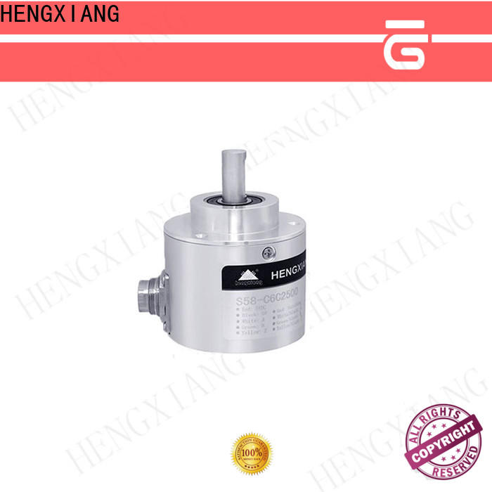 HENGXIANG high resolution optical rotary encoder directly sale for radar