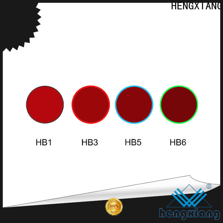 HENGXIANG colored glass light filters with good price for educational materials