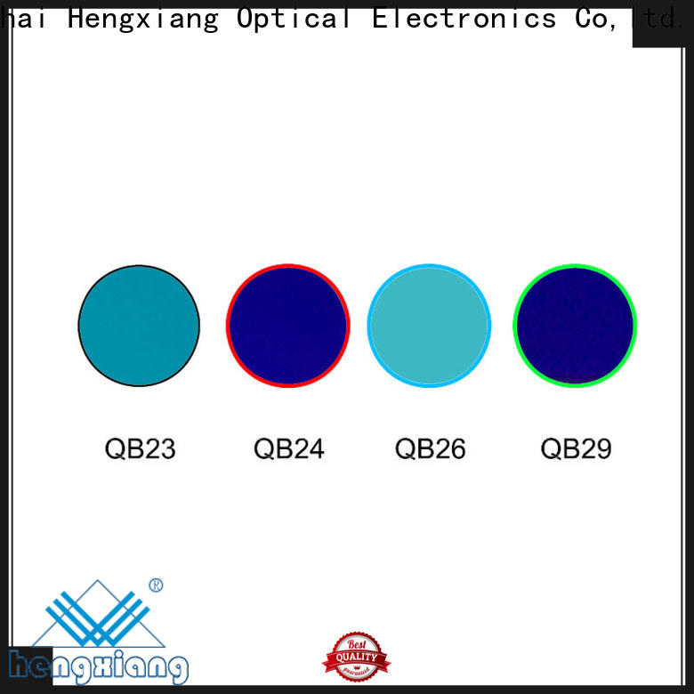 HENGXIANG precise glass color filters supplier for medical