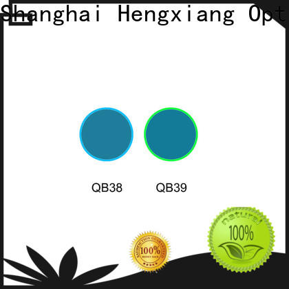 HENGXIANG professional color glass filter series for UV or IR detection system