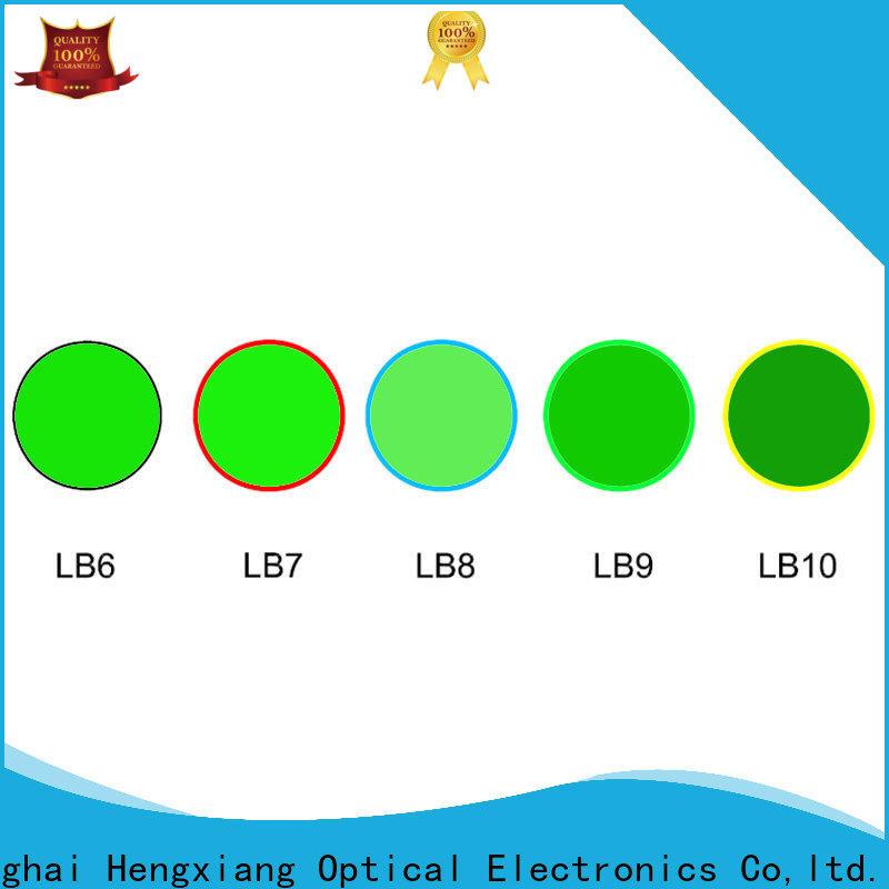 HENGXIANG excellent color glass filter manufacturer for medical