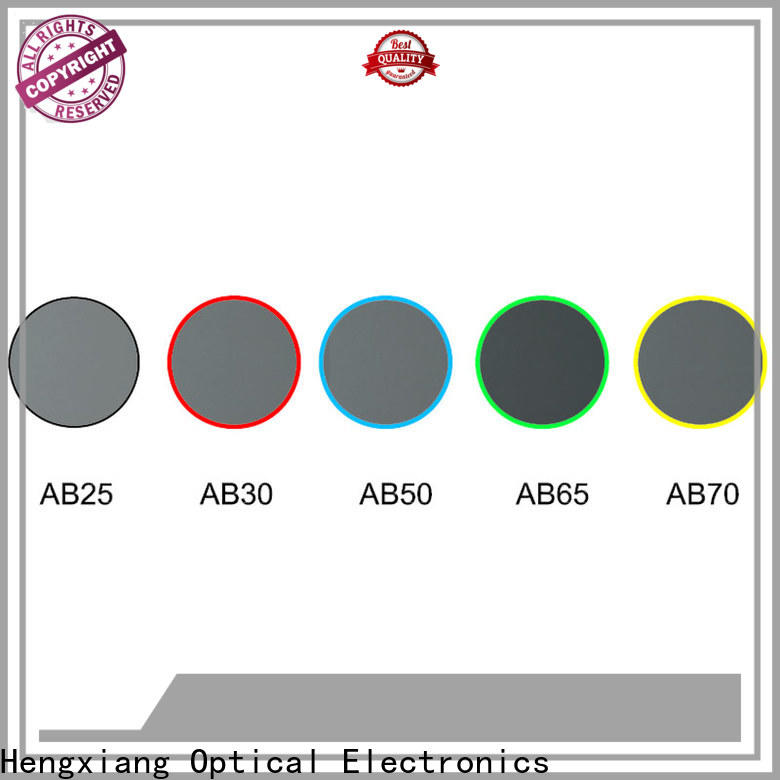 real optical colored glass filters factory direct supply for cameras
