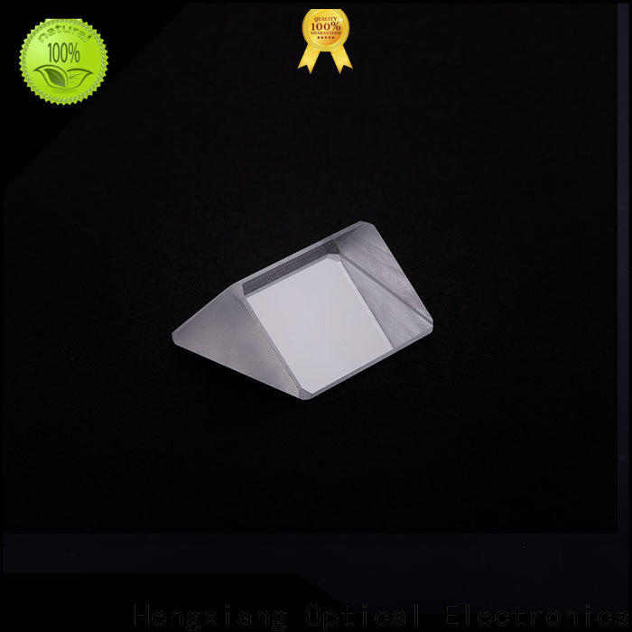 HENGXIANG triangular prism lens factory direct supply for rainbow