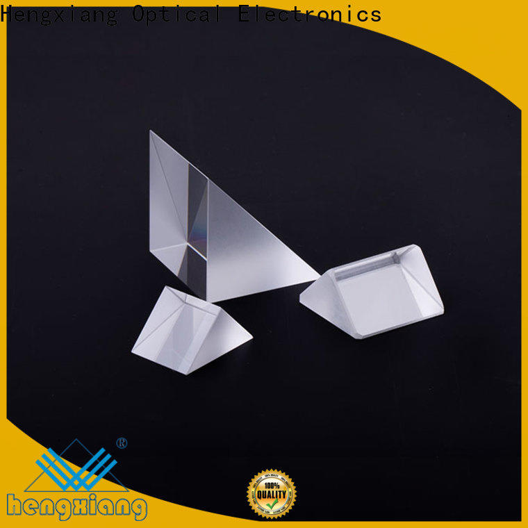 HENGXIANG professional optical prism directly sale for color spectrum