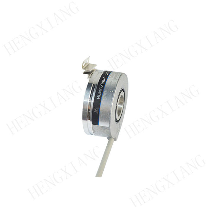 KC76 incremental encoder rotary encoder price 76mm large hole shaft with 4mm/6mm/8mm slot up to 32768 pulse