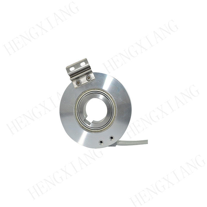 KC76 rotary encoder 18-25mm through hole encoder 3000 counts per resolution 350g with keyway incremental encoder resolution supplier