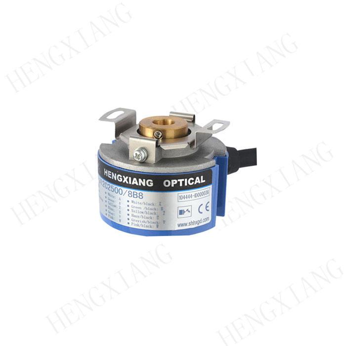 KZ48 incremental encoder servo motor encoder taper shaft 9mm 4096 resolution 8 poles line driver 26LS31 optical encoder price