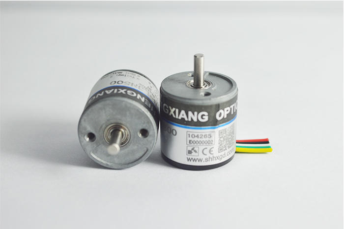 S18 solid shaft  rotary encoder for samll motor shaft and limit space installtion