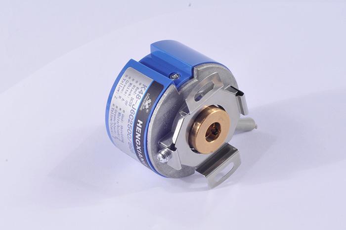 K48 incremental rotary encoder hollow shaft encoder UVW version for servo motor encoder no additional starting torque