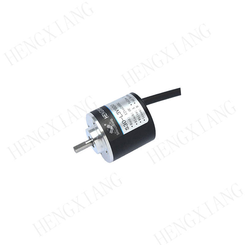 Lightweight Solid Shaft Encoder 4mm Axial Length , CNC Optical Encoder S30