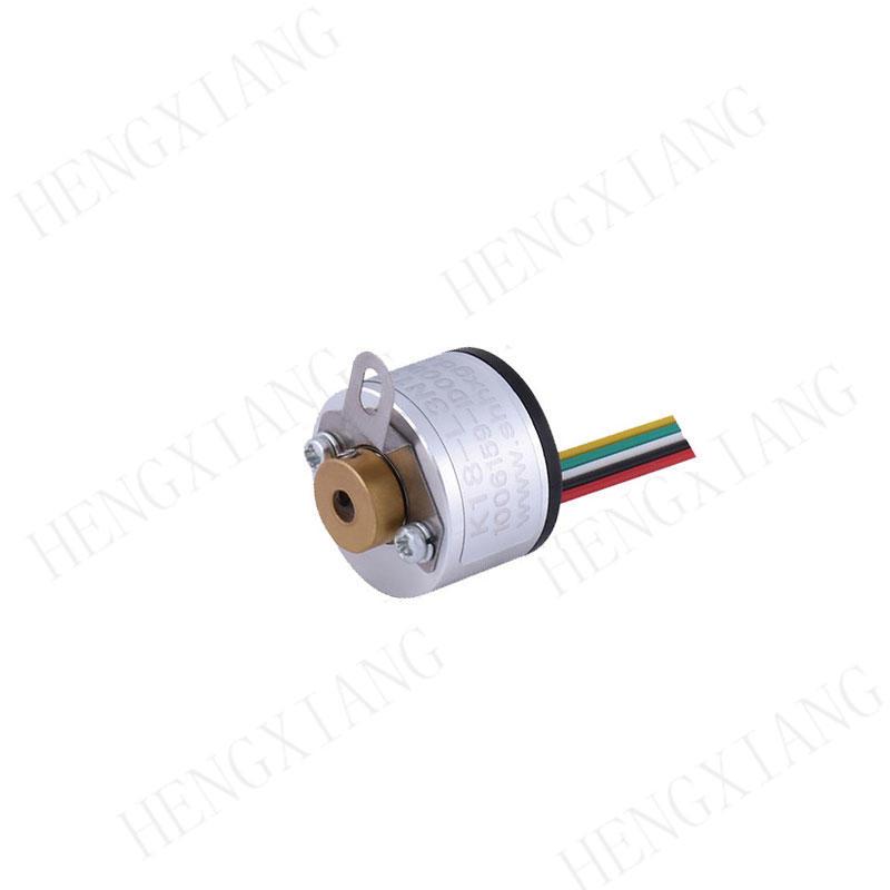 Blind Hole Shaft K18 Miniature Rotary Encoder AB Phase NPN Output High Accuracy