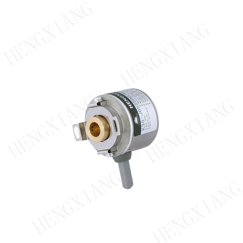 External Diameter 35mm Miniature Rotary Encoder K35 Blind Hole 8mm 40mm Leaf Spring