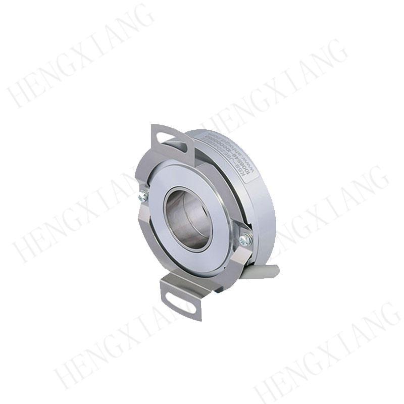 Hollow Shaft Heavy Duty Encoder K58 , Photoelectric Rotary Encoder 7200 Ppr Dc 8 - 30v