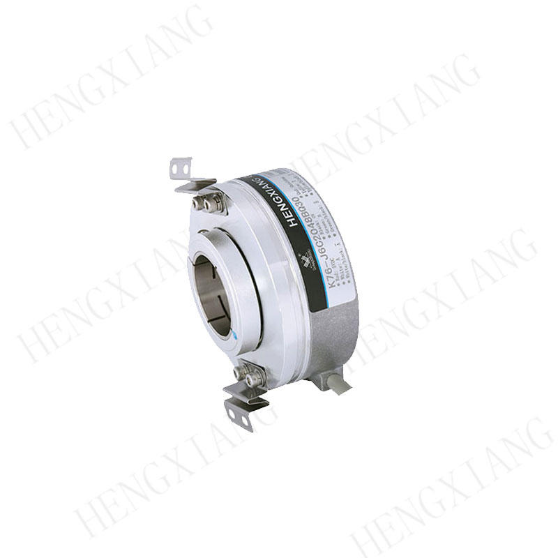 K76 Optical Rotary Encoders Large Aperture Encoder Hole 30mm Thickness 28mm
