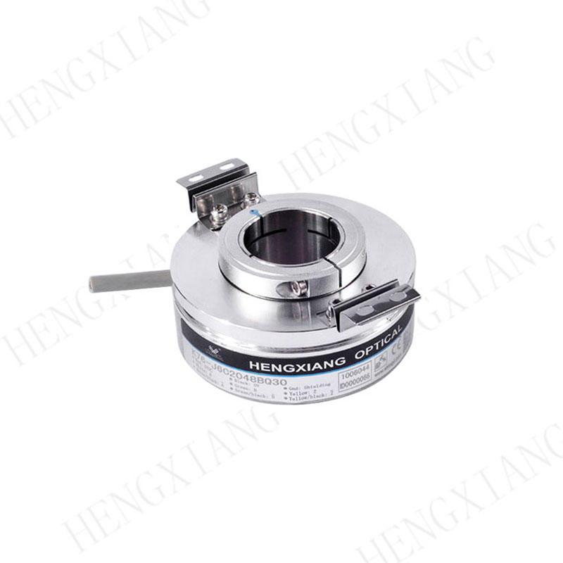 K76 CNC Encoder high resolution 28800max hollow shaft hole 18-30mmmm differential output dc8-30v position encoder sensor