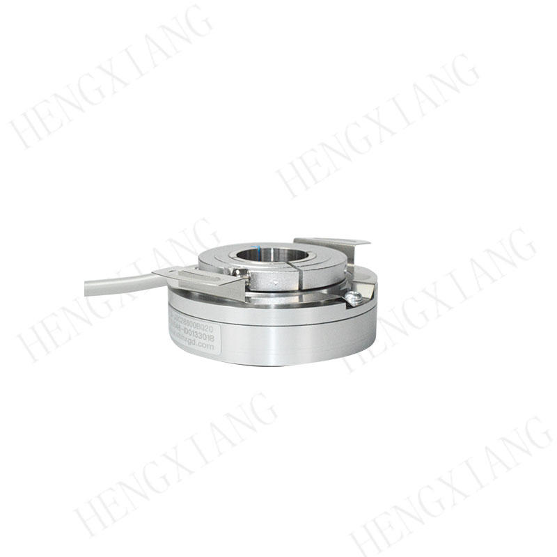 K58 Robot Encoder Through hole 15/16/18/20/22mm heavy duty encoder 14400/28800 pulse TTL HTL industrial encoder