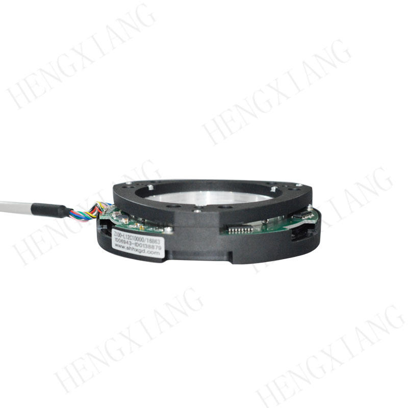 Z100 Bearingless Encoder Through hole incremental encoder outer dimension 100mm customzied shaft hole 40mm to 65mm Non-bearing encoder rotation encoder