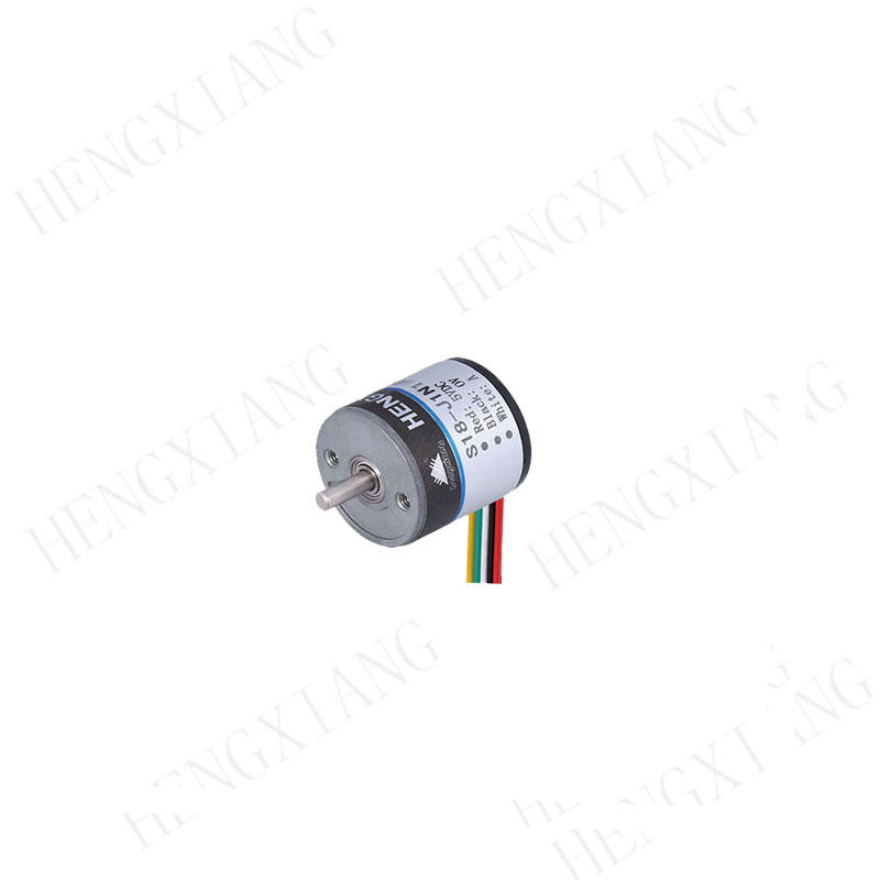 S18 Solid Shaft Encoder micro encoder low cost encoder OML-100-2MC  thickness 18mm installation size 12mm NPN output angle encoder