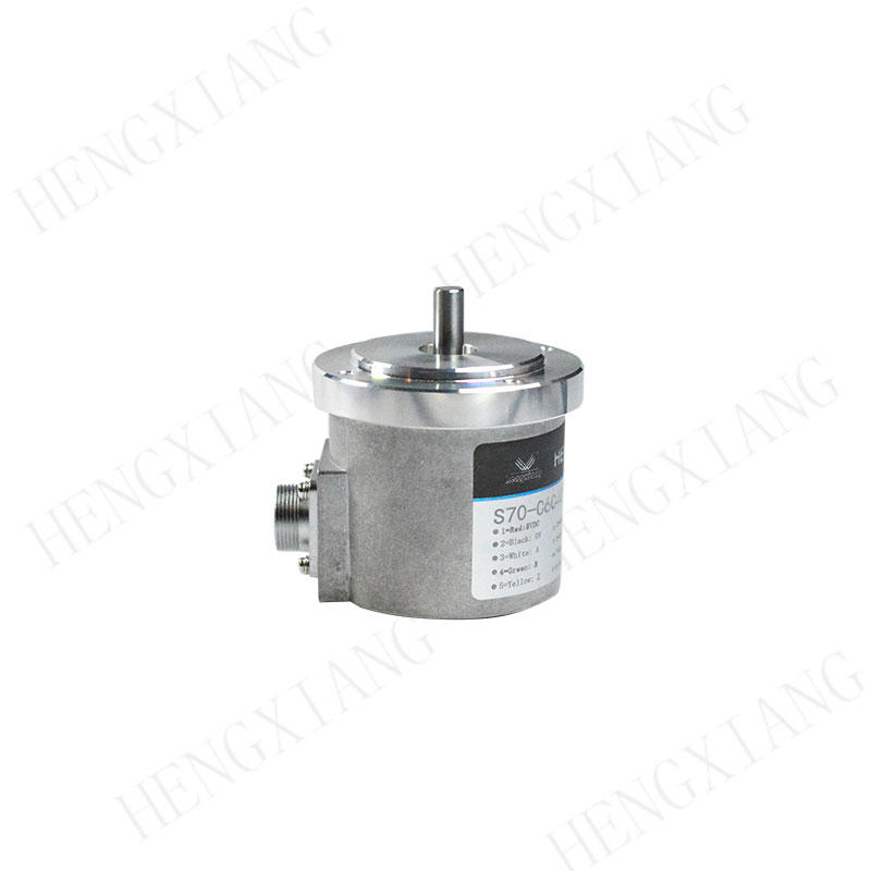 S70  low cost solid shaft 5000 ppr optical rotary encoder measure length
