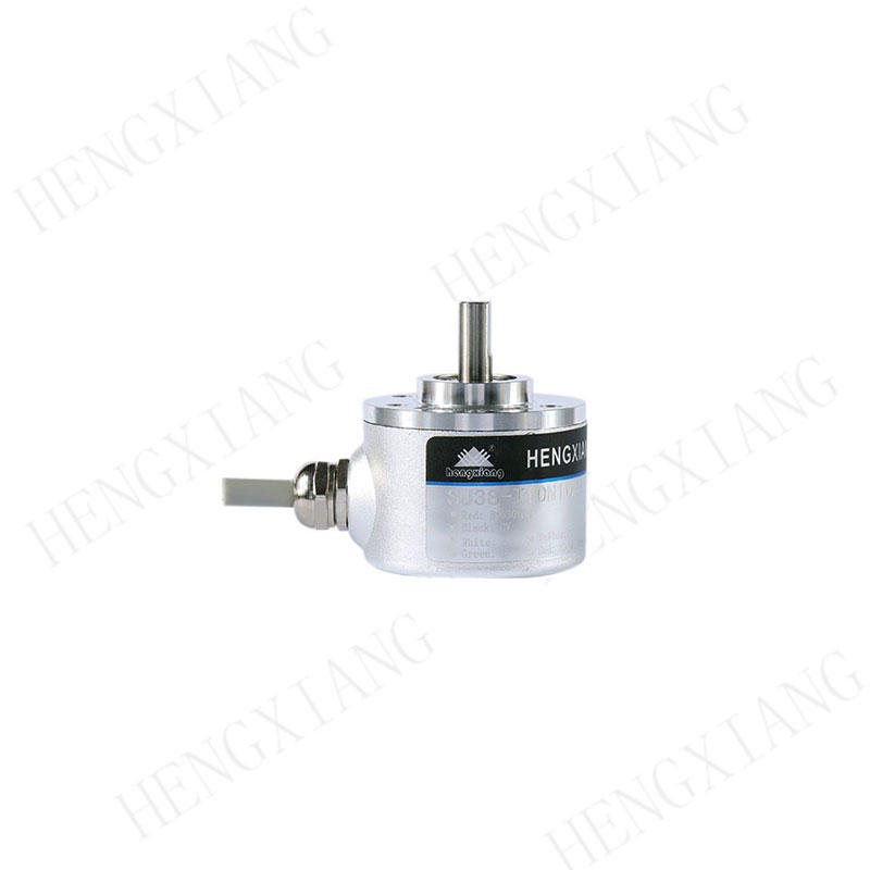 SJ38 Solid Shaft Encoder  single turn absolute encoder Gray code Parallel output 32-4096ppr 5-12 bit weight 130g optical absolute encoder