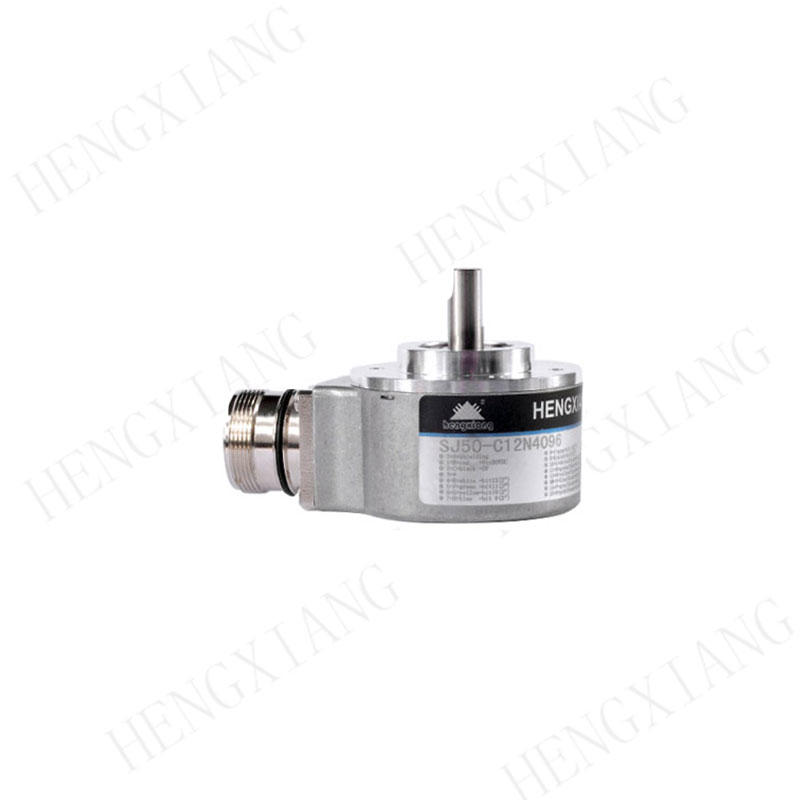 SJ50 8mm Solid Shaft Encoder Absolute optical rotary encoder parallel output up to 4096ppr 12 bit CW/CCW absolute angle encoder