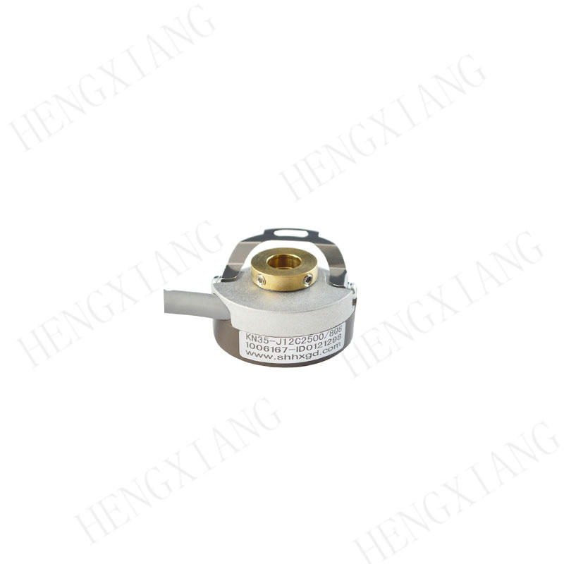 KN35 servo motor encoder Hollow Cone Taper shaft 7mm thickness 18mm ABZUVW 12 phase line driver output hollow shaft encoder