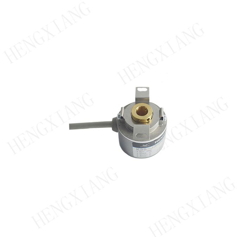 K35 servo motor encoder Incremental encoder 35mm for Pressure testing equipment high quality encoder 50-8192 pulse angular encoders