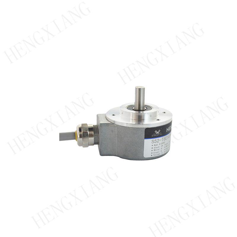 S52 servo motor encoder ABZUVW signal M23 connector solid shaft 8mm 5000 resolution with mounting bracket encoder position sensor EL42A120Z5/28P6X6PR2, TRD-N1000-RZW