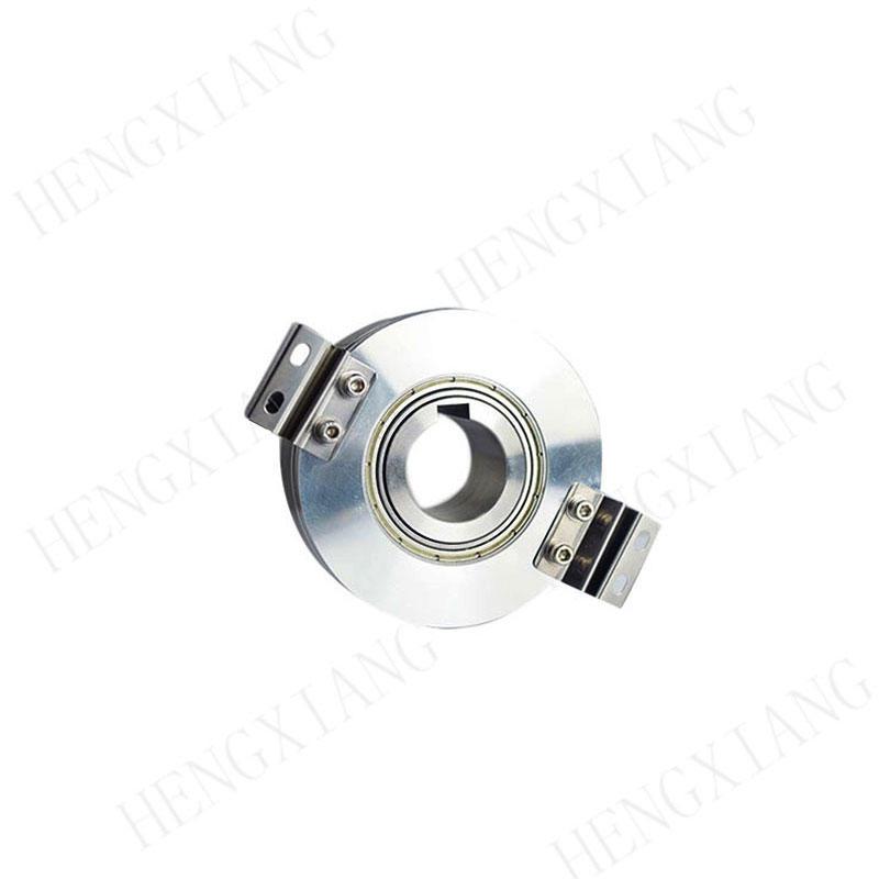 KC76 servo motor encoder keyway encoder hole 25mm with 8mm keyway ABZ phase push-pull output 32768ppr angle encoder