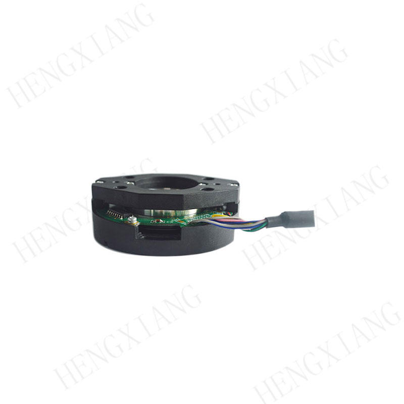 Z58 Hollow Shaft Encoder 58mm bearingless optical rotary encoder up to 10000 resolution space saving with ABZUVW phase encoders in robotics