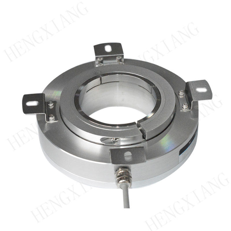K158 Hollow Shaft Encoder large size photoelectric encode  70/75/78/80/82mmmm incremental encoder HTL output 1024ppr-80000ppr rotary encoder accuracy