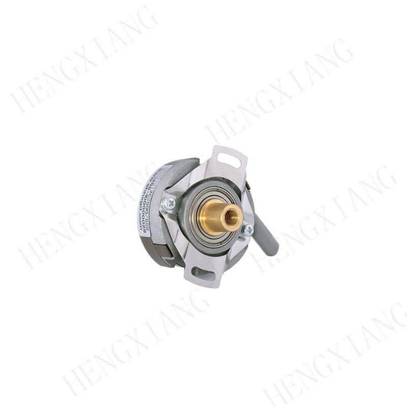 KN40 rotary encoder Solid cone shaft encoder taper shaft 6/8/9/10mm 20000 pulse TTL singal for Core gold uncoiler