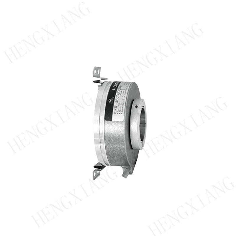 K76 rotary encoder Elevator encoder 76mm E80H30-10243N24 optical rotary encoder 1024 pulse voltage 24V opto encoder