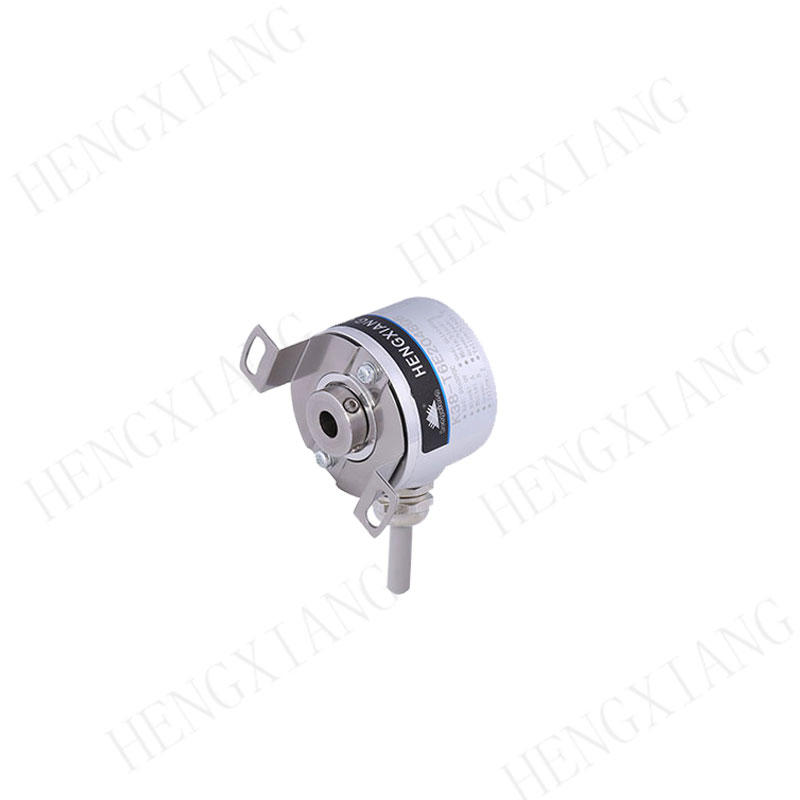 K38 Universal rotary encoder dustproof encoder outer diameter 38mm totem pole output cable length 1 meters IP65 cnc encoder