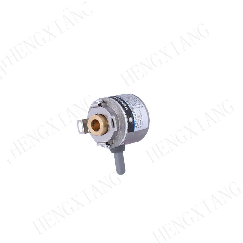K35 rotary encoder micro encoder mini size blind hole 6mm 2500 resolution and 4 poles for servo motor