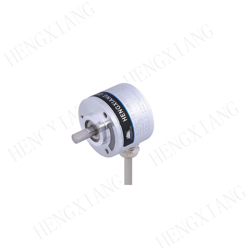 SJ38 Mechanical rotary encoder  absolute encoder Binary output 4096ppr 12 bits quadrature shaft encoder 5-30V