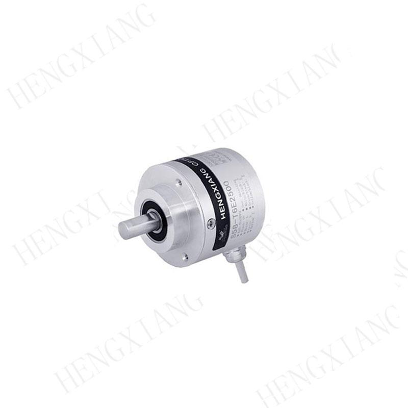 S58 rotary encoder outer diameter 58mm heavy duty encoder solid shaft 10mm 1024ppr 758-A-21S1024RHV RV6040 RV-3600-I24/L2 industrial encoder