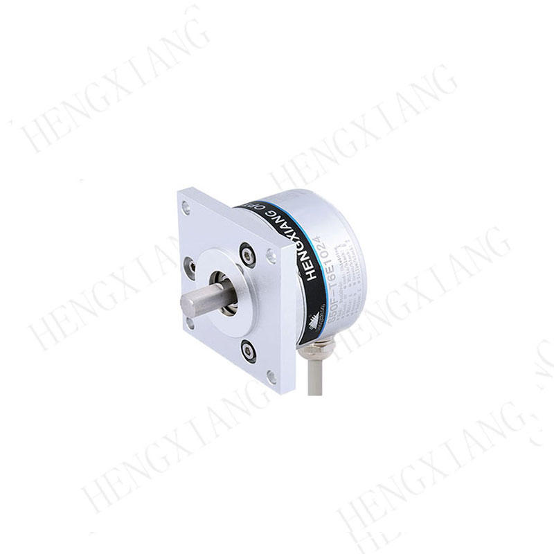 S50F rotary encoder Radial cable 1000mm flange encoder NOC-S1024-2MD solid shaft 10mm  speed encoder for packing machinery