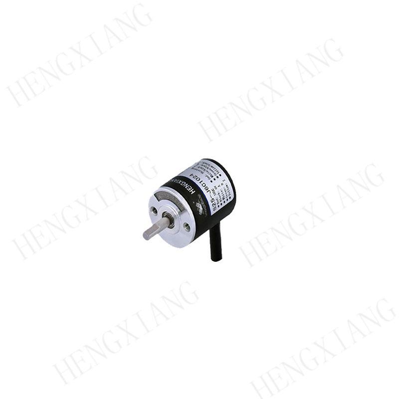 S25 rotary encoder quadrature sensor solid shaft 4mm D-type 1440 resolution line driver 26LS31 output A+B+Z+A-B-Z- encoder shaft angle encoder